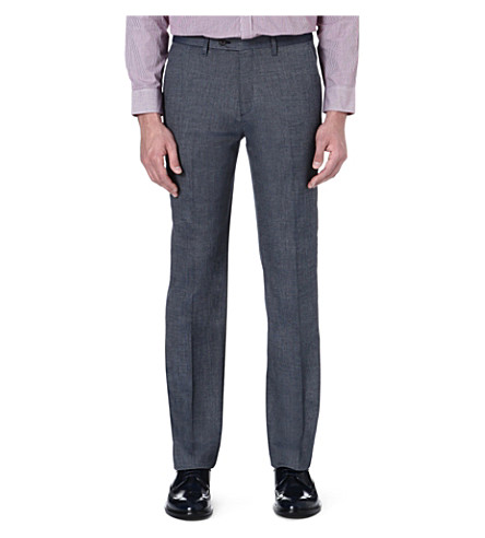 TED BAKER Tantro wool trousers (Blue