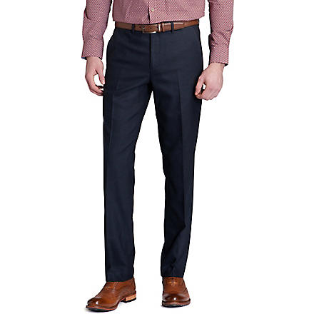 TED BAKER Elratro textured trousers (Navy