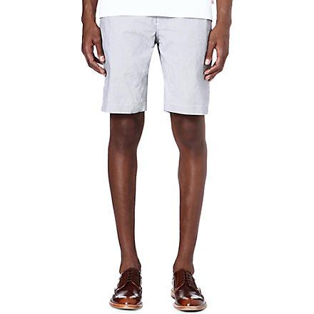 TED BAKER Staddle stripe shorts (Blue