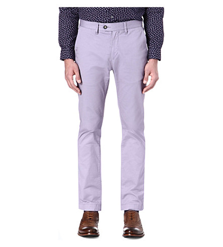 TED BAKER Mordord slim-fit chinos (Lilac