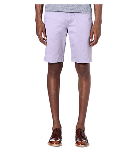 TED BAKER Bagend chino shorts (Lilac