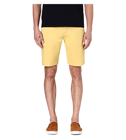 TED BAKER Bagend chino shorts (Lime