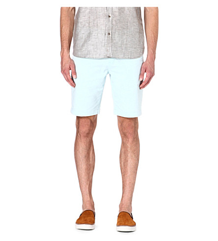 TED BAKER Bagend chino shorts (Mint