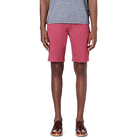 TED BAKER Bagend chino shorts (Pink