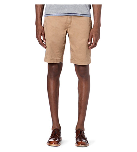TED BAKER Bagend chino shorts (Tan