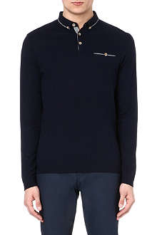 TED BAKER Long sleeve polo shirt