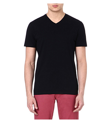 TED BAKER Barvhat v-neck t-shirt (Navy