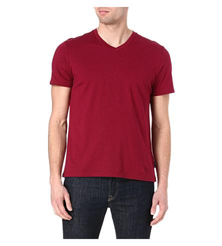 TED BAKER Barvhat v-neck t-shirt (Pink