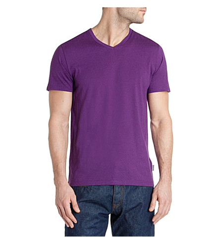 TED BAKER Barvhat v-neck t-shirt (Purple