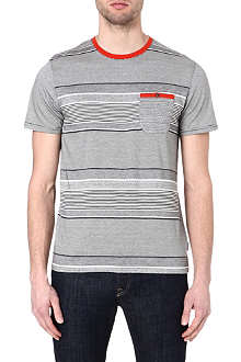 TED BAKER Gervey stripe t-shirt