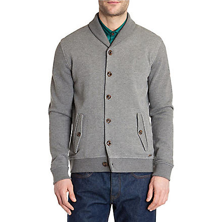 TED BAKER Berden shawl neck cardigan (Grey+marl