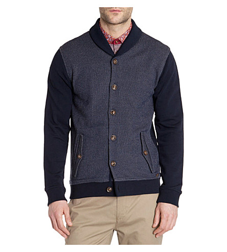 TED BAKER Berden shawl neck cardigan (Navy