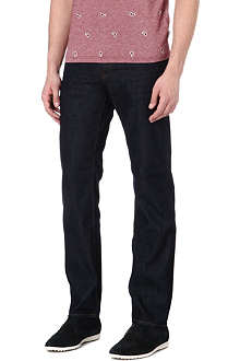 TED BAKER Obsign regular-fit straight jeans
