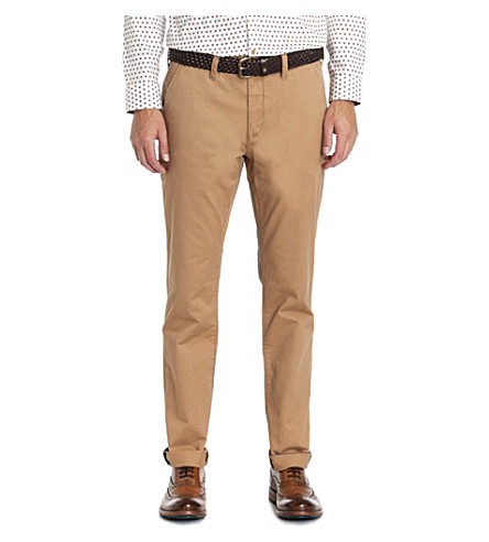 TED BAKER Goblinn regular-fit chinos (Tan