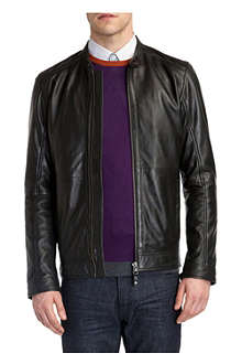 TED BAKER Barath leather jacket