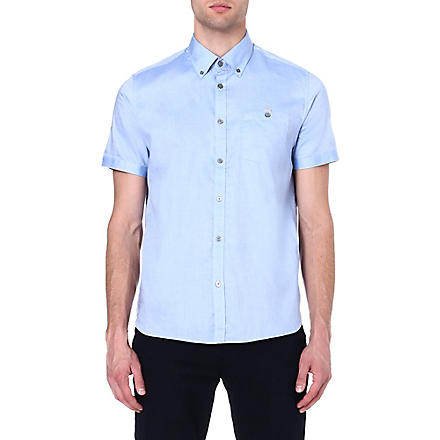 TED BAKER Keenan Oxford shirt (Blue