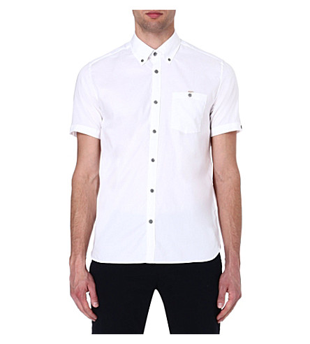 TED BAKER Keenan Oxford shirt (White