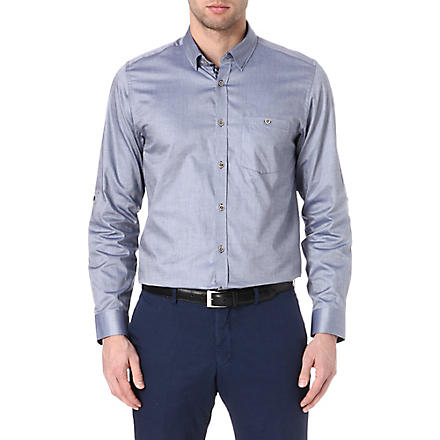 TED BAKER Oxygen Oxford shirt (Navy