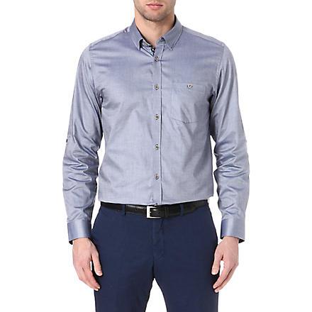 TED BAKER Oxygen Oxford shirt (Navy