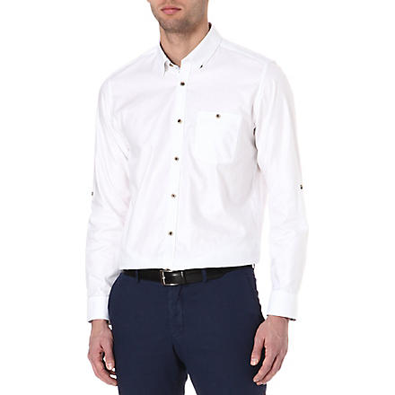 TED BAKER Oxygen Oxford shirt (White