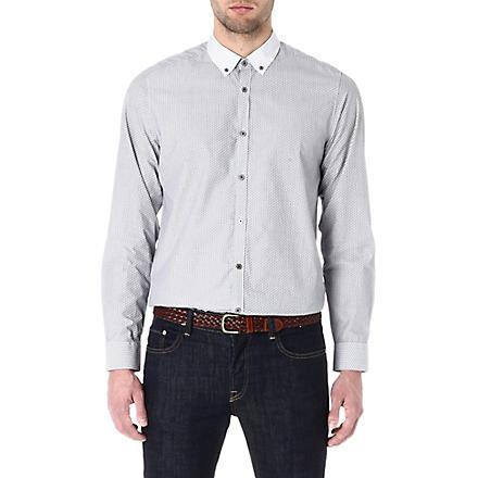 TED BAKER Printed shirt (Grey