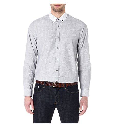 TED BAKER Printed shirt (Grey