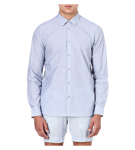 TED BAKER Terrif shirt (Blue