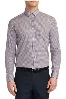 TED BAKER Whodoes circle-print shirt