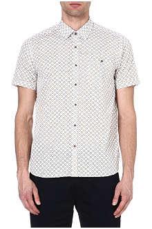 TED BAKER Mungo printed shirt