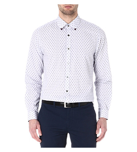 TED BAKER Patterned shirt (Purple