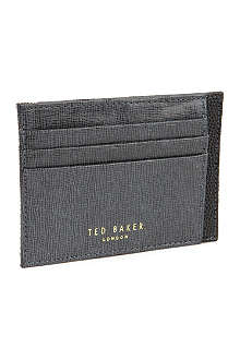 TED BAKER Harman cross-grain card holder
