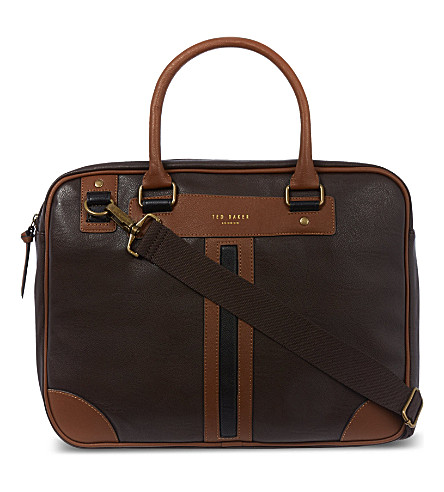 TED BAKER Document bag (Chocolate