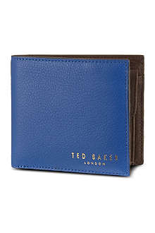 TED BAKER Bright bifold wallet