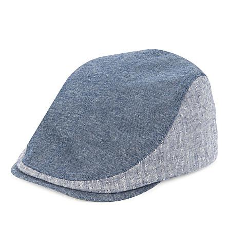 TED BAKER Giffey flat cap (Navy
