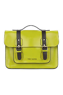 TED BAKER Skolday leather satchel