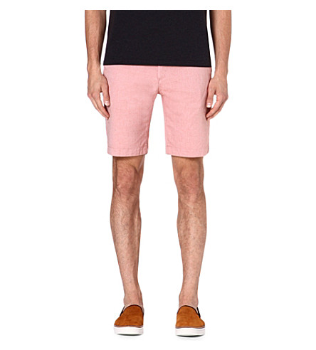 TED BAKER Oxshor cotton shorts (Orange