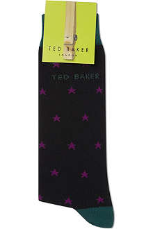 TED BAKER Star print socks