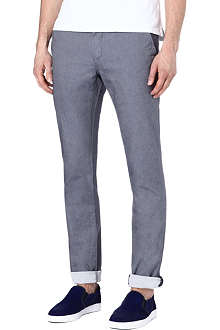 TED BAKER Twiltro cotton twill trousers