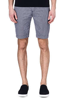 TED BAKER Lorisho printed cotton shorts