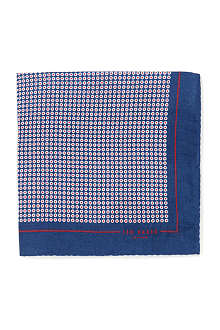 TED BAKER Whopos circle-print pocket square