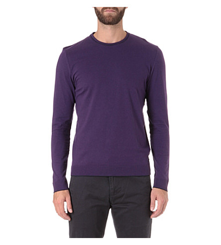 TED BAKER Paulbur crew neck top (Purple