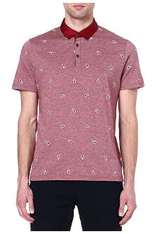 TED BAKER Embroidered polo shirt