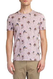TED BAKER Lazoo parrot print T-shirt