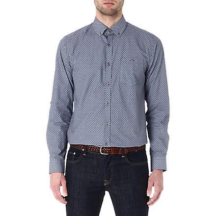 TED BAKER Ikat print shirt (Blue