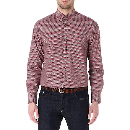 TED BAKER Ikat print shirt (Red