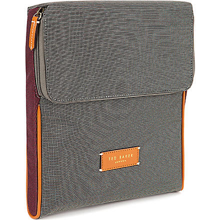 TED BAKER Topcase shirt case (Charcoal