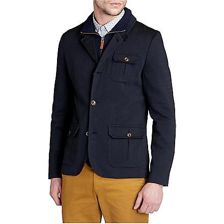 TED BAKER Thatjak zip-through jacket (Navy