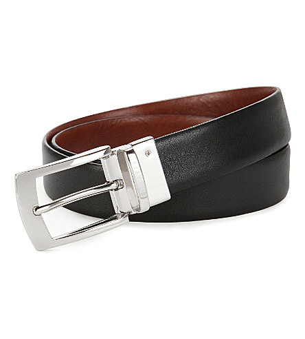 TED BAKER Bluez smart reversible belt (Black