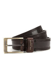TED BAKER Crickitt leather belt