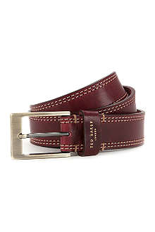 TED BAKER Crickitt leather belt